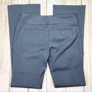 THE LIMITED Gray Exact Stretch Bootcut Leg Pants